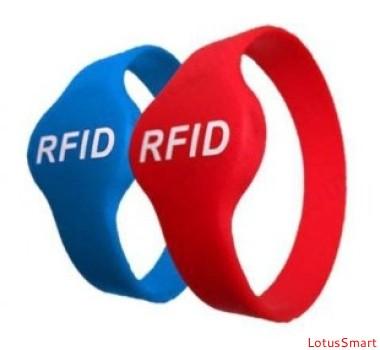 高频RFID腕带、HF RFID腕带可定制